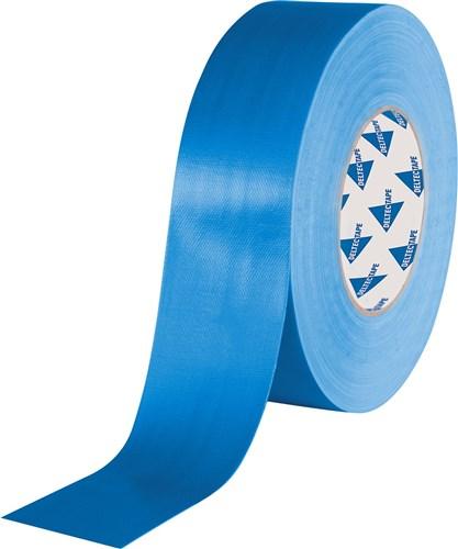 Deltec gaffa tape blauw 50mm x 25m