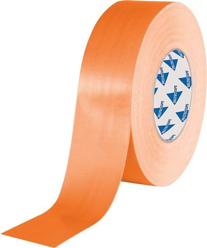 Deltec gaffa tape pro oranje 50mm x 25m