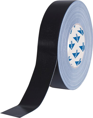 Deltec gaffa tape pro zwart 38mm x 50m