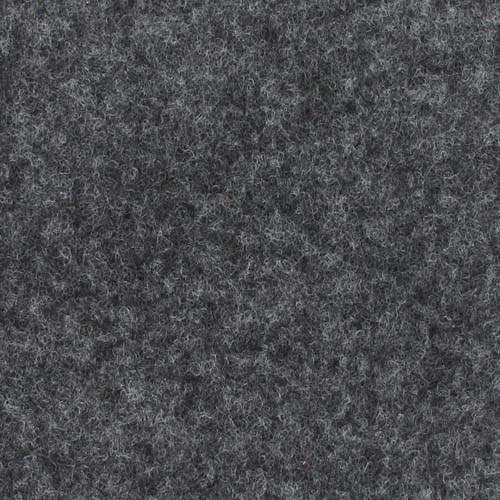 Rol tapijt met folie antraciet 50m x 2m
