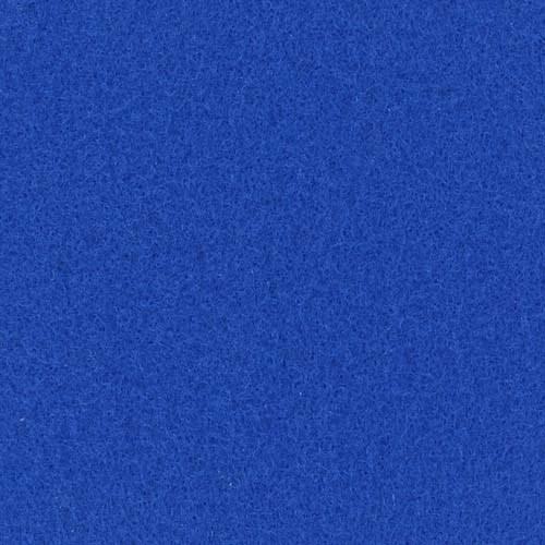 Rol tapijt met folie neon blauw 50m x 2m