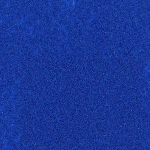 Rol tapijt met folie pauw blauw 50m x 2m