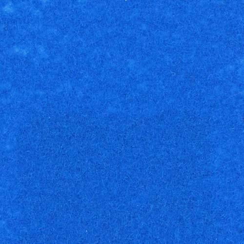 Rol tapijt met folie hemel blauw 50m x 1m