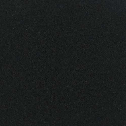 Rol tapijt met folie zwart 50m x 2m
