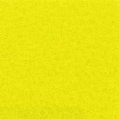 Rol tapijt met folie geel 50m x 1m