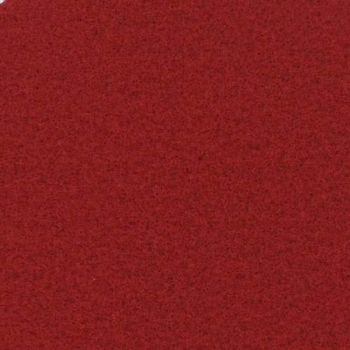 Rol tapijt met folie bordeaux rood 50m x 2m