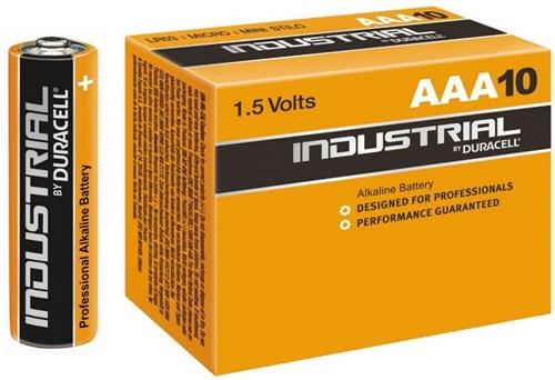 Duracell Industrial AAA batterij 1.5V LR03/AAA – doos 10