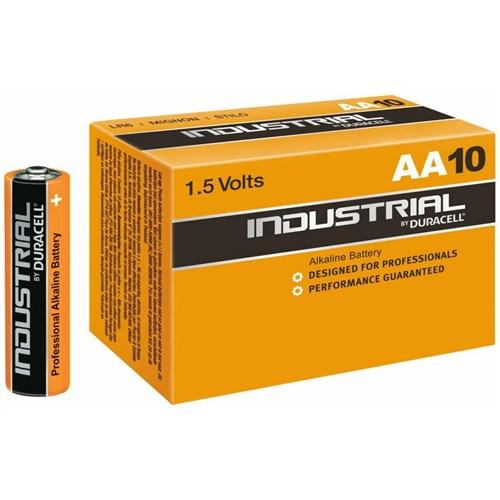 Duracell Industrial AA batterij 1.5V LR6/AA – doos 10