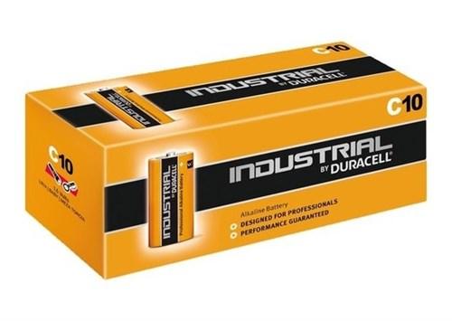 Duracell Industrial C batterij 1.5V PC1400 LR14 – doos 10