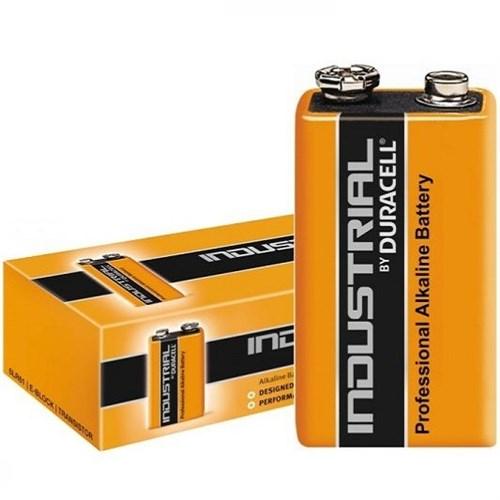 Duracell Industrial E blok batterij 9volt 6LR61 – doos 10