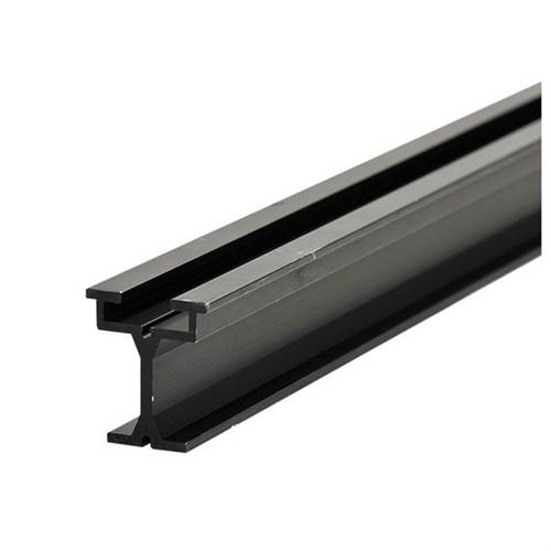 Wentex Eurotrack rail 200(l)cm zwart
