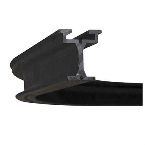 Wentex Eurotrack corner 90ø Black R=1000mm