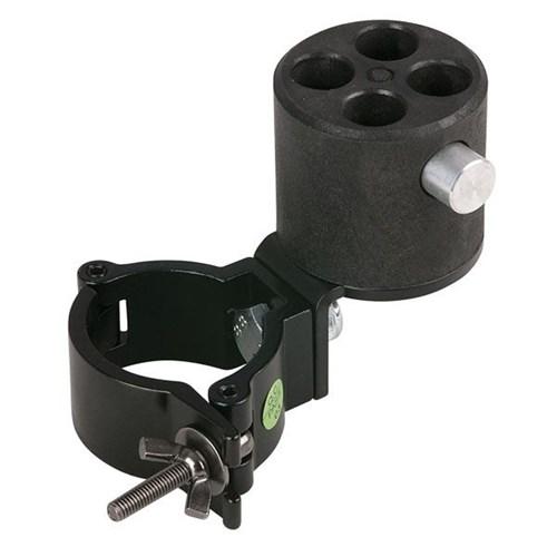 Wentex Angled bracket with 4-way con. & 50mm half coupler