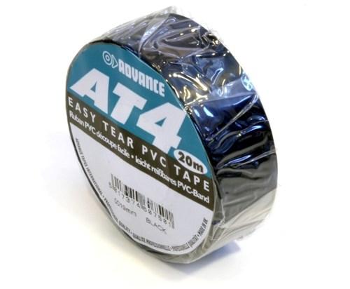 Advance AT4 PVC Tape 19mm-20m – Zwart