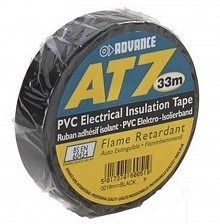 Advance AT7 PVC Tape 19mm-20m – Zwart