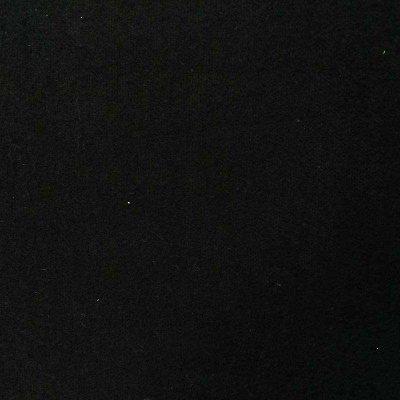 Theaterdoek afgewerkt max 8m2 zwart